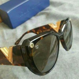 6300527986 Louis Vuitton My Fair Lady Tortoise Sunglasses